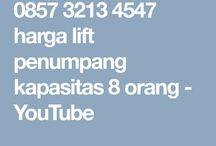 0857 3213 4547 harga lift penumpang kapasitas 8 orang - YouTube