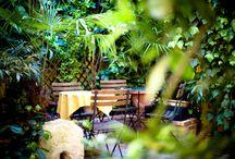 Les plus beaux jardins d'hôtels à Paris / Jardin secret, suspendu, à la française, pour déconnecter ou siroter un coktail : les plus beaux jardins d'hôtels parisiens.