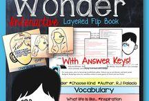 Wonder / Wonder by R. J. Palacio / by Laura Boland