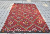 Rugs / Mostly kilim and vintage rugs