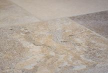 FLAGSTONE FLOORING / Historically, flagstone flooring was featured in churches, castles, stately homes and also chocolate-box cottages. Today, flagstone flooring is produced with a number of different finishes, such as aged or tumbled, often expertly done by hand. Flagstone flooring appeals to those who like floors with texture combined with colour and tonal variations.  The final result is a floor that looks as though it has been laid for many years.