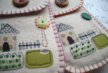 Felt embroidery / by Ruth Wilshaw