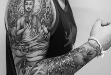 Bouddha tatoo