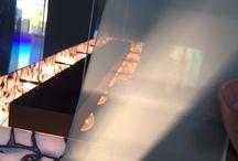 Versato Plexiglass Myst / We proudly introduce our new Versato Plexiglass Myst. Designers love this material allready (designers, architects, interior etc.)