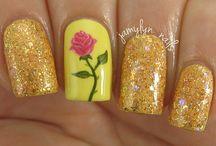 Disney Beauty / Mooie make-up, haar en nagels in Disney stijl!