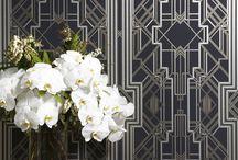 Art Deco ideas / Wallpaper