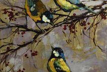 Birds / Art / Painting / Artworks