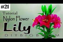 Λουλούδια από ναυλον