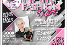 2014 Hair & Fashion Show / Cosmo Finger Guard will be exhibiting in the 2014 Hair & Fashion Show in Evansville, IN Sunday 9/21/14  and will be Tweeting live from : @CosmoGlove