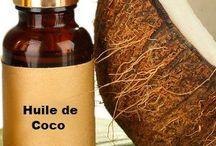 Huile ( coco ... )