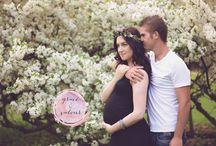 Maternity photoshoot / Photos done by Kourtney Shelton of Grace & Valour Studios in Niagara Falls, Canada