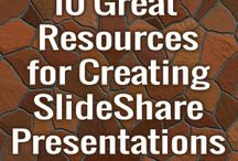SlideShare Tips and Resources / A collection of great SlideShare tips and marketing resources, curated by Rock the Deadline.