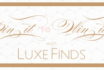 LuxeFinds Giveaway Pillowcases / by Sarah Turner