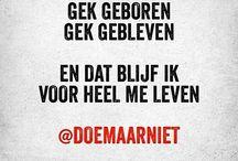 #DoeMaarNiet
