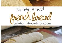 Yummy Bread and Rolls Recipes / Homemade recipes for the yummiest breads and rolls!  The perfect side to a special meal.
