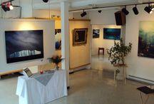 Aménagement du Studio / Salle d'exposition du Studio Couleur d'Art