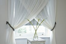 Window Curtain Ideas & Inspirations / Add some oomph in your rooms with these great curtain inspirations.