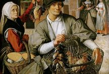 Basket - history / Baskets on paintings and pictures  of Historical baskets