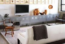 Industrial Look Living Room