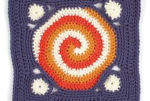 Crochet Granny Squares/Hexagons, ...