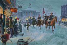 Amerikanske Borgekrigen.