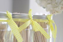 {LULUPOP} BABY GIRL DEDICATION - YELLOW / A yellow and white sweet and dessert table for a precious Baby Girl Dedication.  Styling - LuluPop  Stationery & Supplies - Bash Paperie  Photography - Heather Fitchet  Balloons - Balloons Just 4 U  Cake, cupcakes & biscuits - Cakes by Carrie
