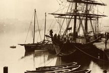 ships and harbours of 19. century
