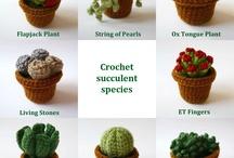 Knit plant garden