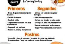 Menú Barcelona / Menú Burger - Menú del dia - Menú en Barcelona - Burger Bar - Hamburguesas