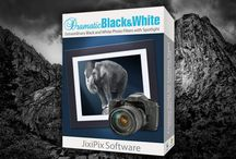 Dramatic Black & White / Create awe-inspiring photography from your snapshot or image. Leave color in the rear view mirror and transform your photo into a classic beauty with extraordinary light, texture and form. Available on Mac/Win/iOS/Android
