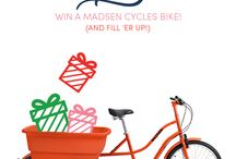 Madison bike giveaway! / by Brooke Eddy Tokanang