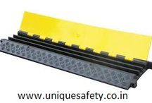 Road & Traffic Safety Products / Road Safety Products such as Barricading Tape, Convex Mirror, Que Stand with Rope, Cable Protector, Traffic Cone, Spring Post, etc