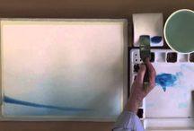 Akvarellilöitä