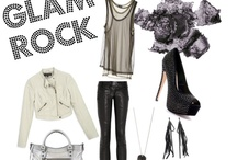 Glam Rock Look