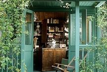 Garden sheds / What I would like to do with mine