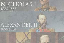 Russian tsars / Carowie rosyjscy