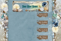 blogger backgrounds and templates / by Asia King