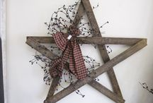 Primitive Country Home Decor Ideas / by Beth Shockey