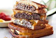 burgers an sandwiches