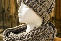 Hat-scarf sets