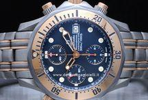 Omega Seamaster / Altra tappa fondamentale è il 1957, con la creazione dell'orologio Speedmaster scelto dalla NASA e celebre per essere stato il primo ed unico orologio ad andare sulla luna il 21 luglio del 1969, al polso di Neil Armstrong. Quando l'anno successivo un'esplosione danneggia l'Apollo 13, è proprio un orologio Speedmaster a misurare manualmente la precisa spinta del motore richiesta per rientrare nell'atmosfera terrestre e salvare la vita all'equipaggio...