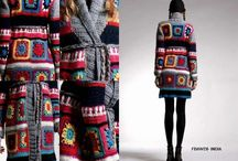 Crochet jacket & coat