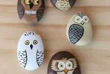 Malowane kamienie