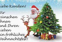 Fröhliche Weihnachten / Liebe Kunden! Wir wünschen Ihnen allen ein fröhliches und friedliches Weihnachtsfest! Ihr Engelchens Blumenparadies