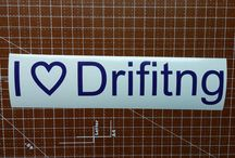 Drifting Decals/ Stickers