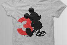 Disney bday shirts