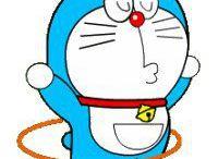 Doraemon / bulat dan berwarna biru :D