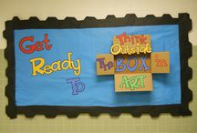 Art Room: Bulletin Board / by Clinard Family