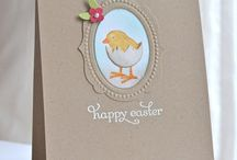 Cards - Easter/Pacques