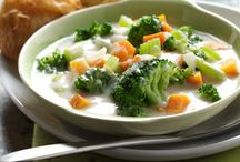 Soups / There is nothing more comforting than a bowl of hot homemade soup for dinner with some homemade bread.  Heaven!